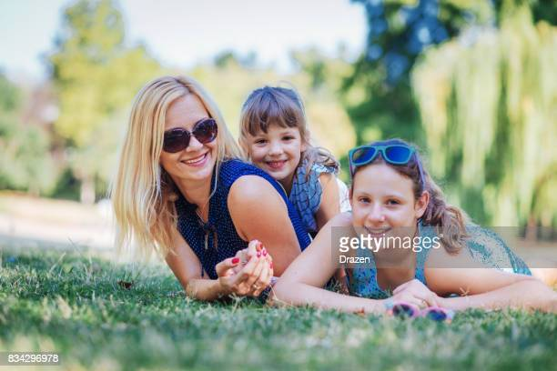 I enjoy being with my kids