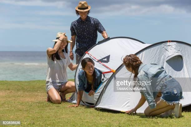 キャンプをお楽しみください。