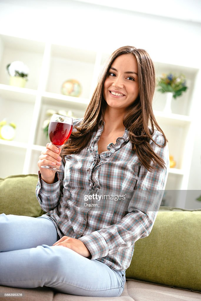 I enjoy drinking red wine