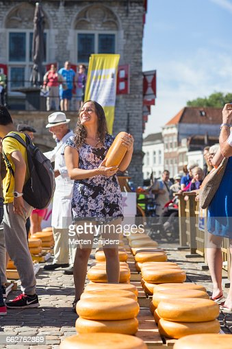 Enjoy Gouda's Cheese market