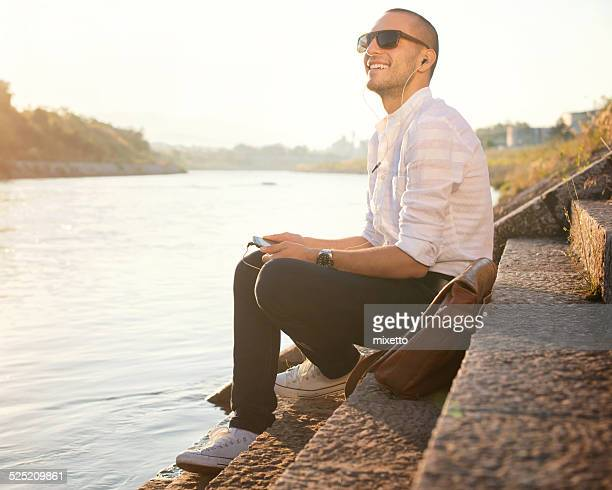 Enjoy on the river