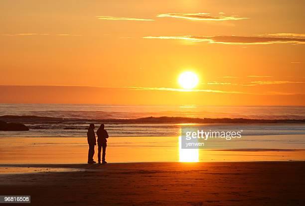 Enjoy Sunset at Beach