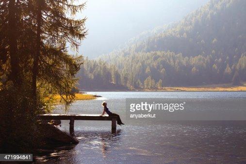 enjoy the nature : Stock Photo