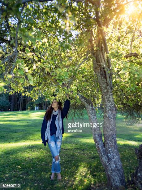 enjoy the sunny day in nature