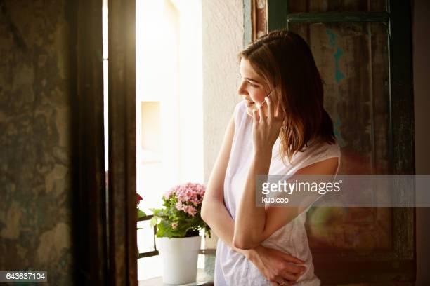 Enjoying a long distance chat