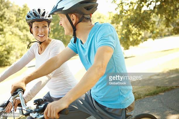 Genießen Sie Fahrrad