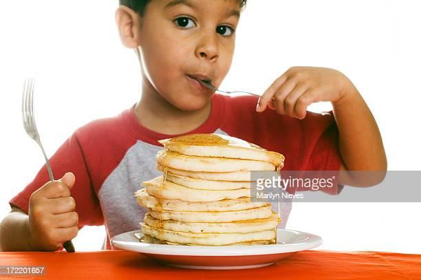 Genießen Sie das Frühstück