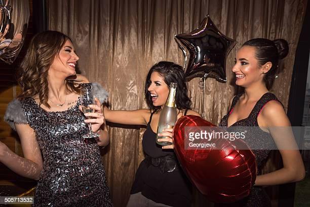 Profiter du champagne