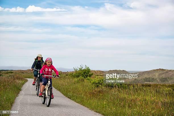 Enjoying Danemark biking trakcs