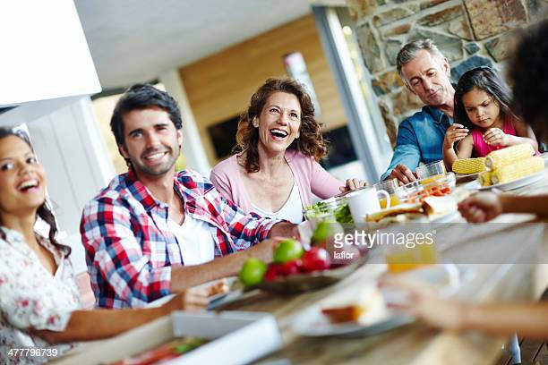 Enjoying mealtimes as a family