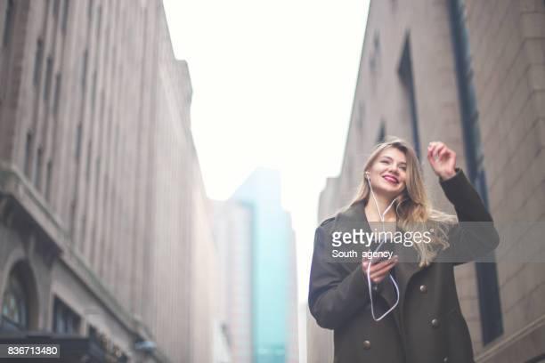 Genießen Sie die Musik auf der Straße