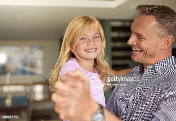 Disfruta de la hija de papá día
