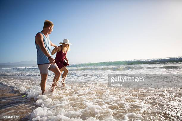 Enjoying our seaside vacation