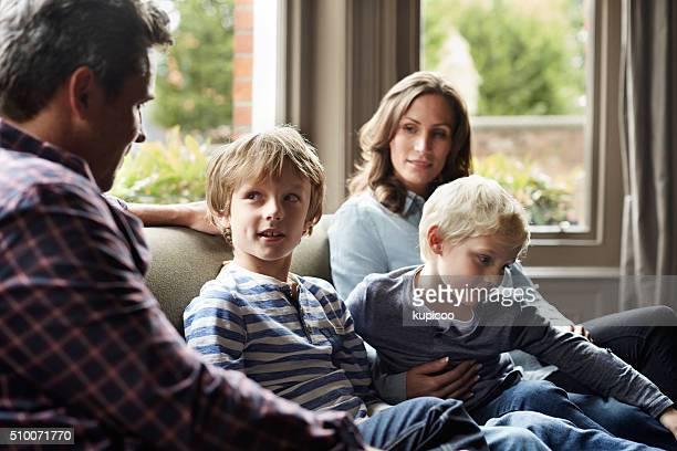 Genießen Sie einige Zeit mit der Familie