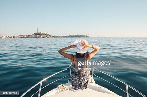 Enjoying summer on the Croatian seaside