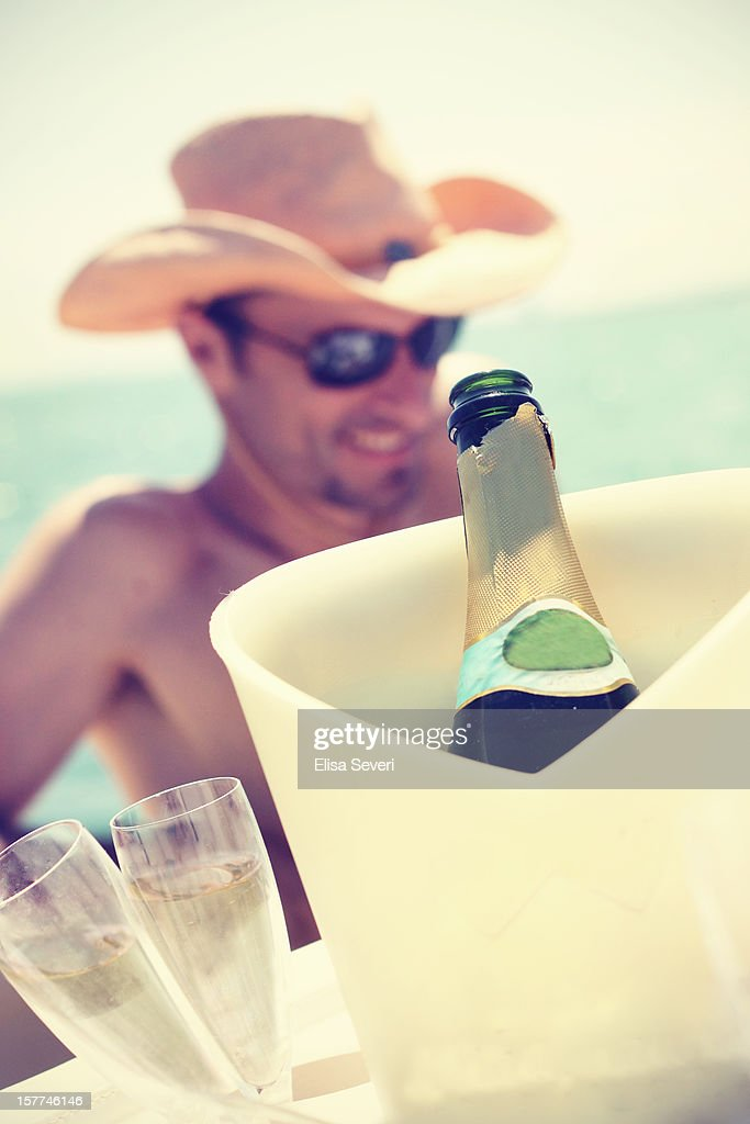 enjoying summer : Stock Photo