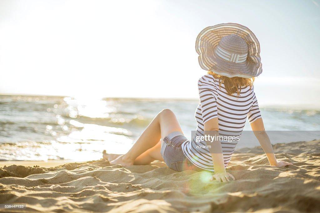 Enjoying summer