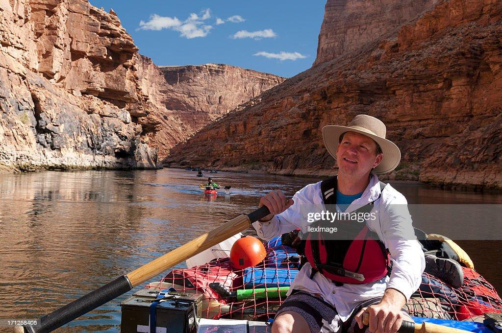 Goditi la vista del Grand Canyon : Foto stock