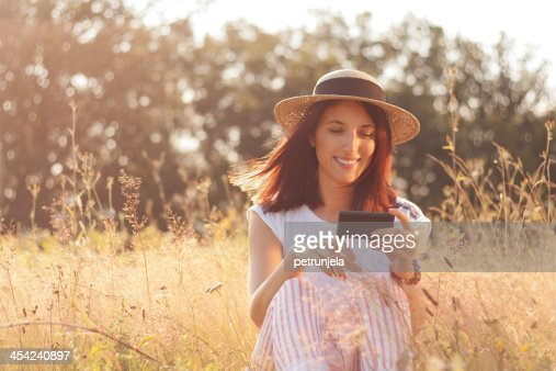 Enjoying the sun : Stock Photo
