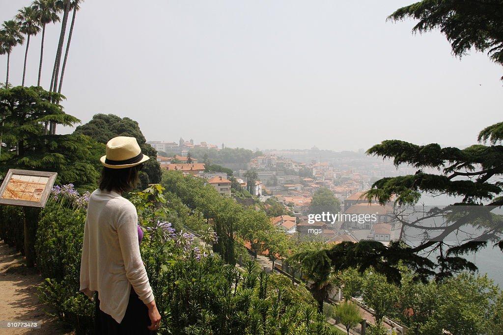 Enjoying the view at Porto