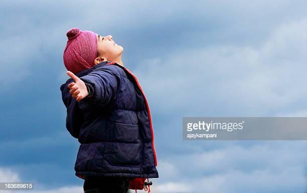 Enjoying the weather