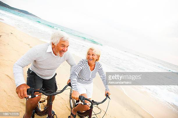 Enjoying their golden years