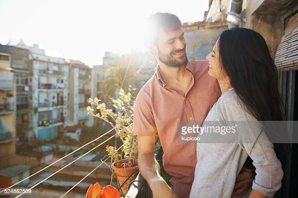 Enjoying their romantic getaway
