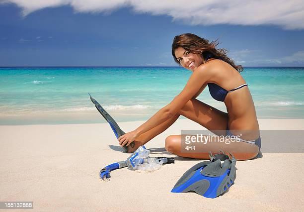 Genießen Sie einen Urlaub, Freizeit und Schnorcheln (XXXL