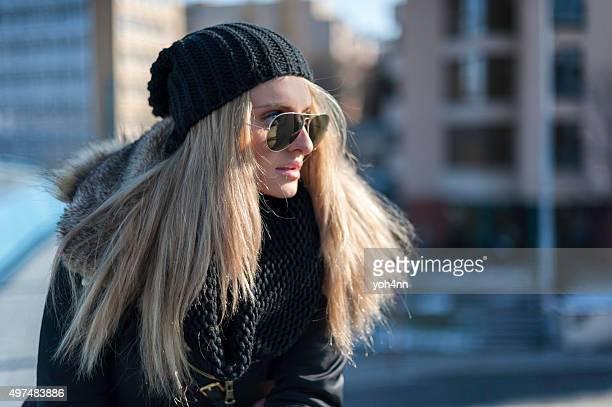 Enjoying winter sun
