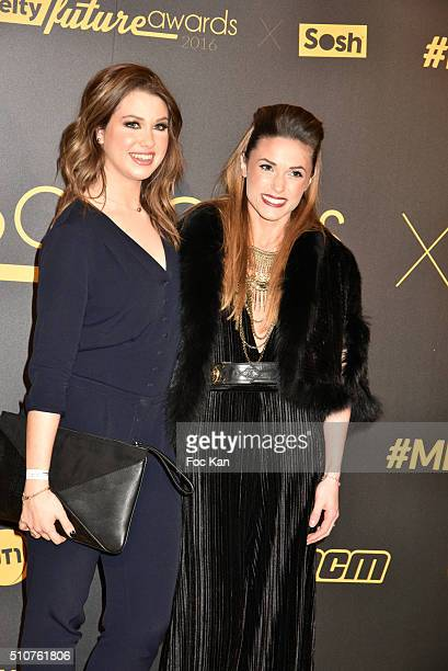 Enjoyphoenix and Capucine Anavattend The Melty Future Awards 2016 at Le Grand Rex on February 16 2016 in Paris France