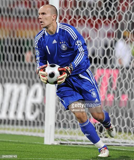 Enke Robert Goalkeeper National Team Germany in action on the ball