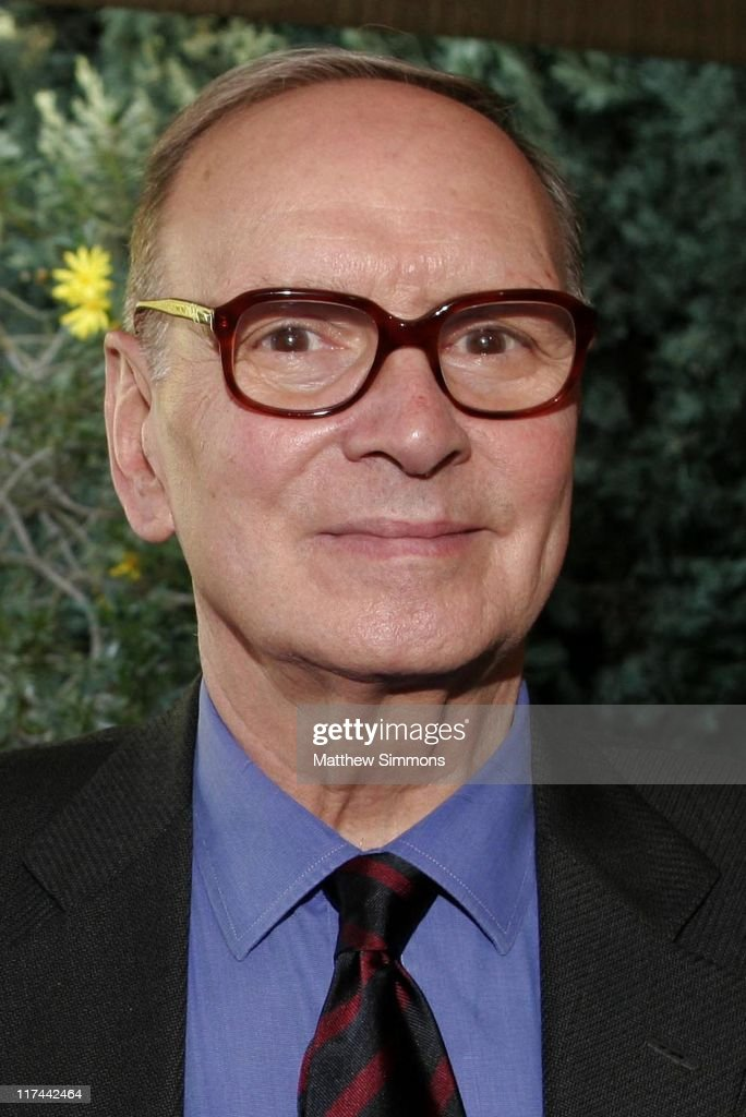 Ennio Morricone during Society of Composers and Lyricists Annual Champagne Reception at Private Residence in Beverly Hills, California, United States.