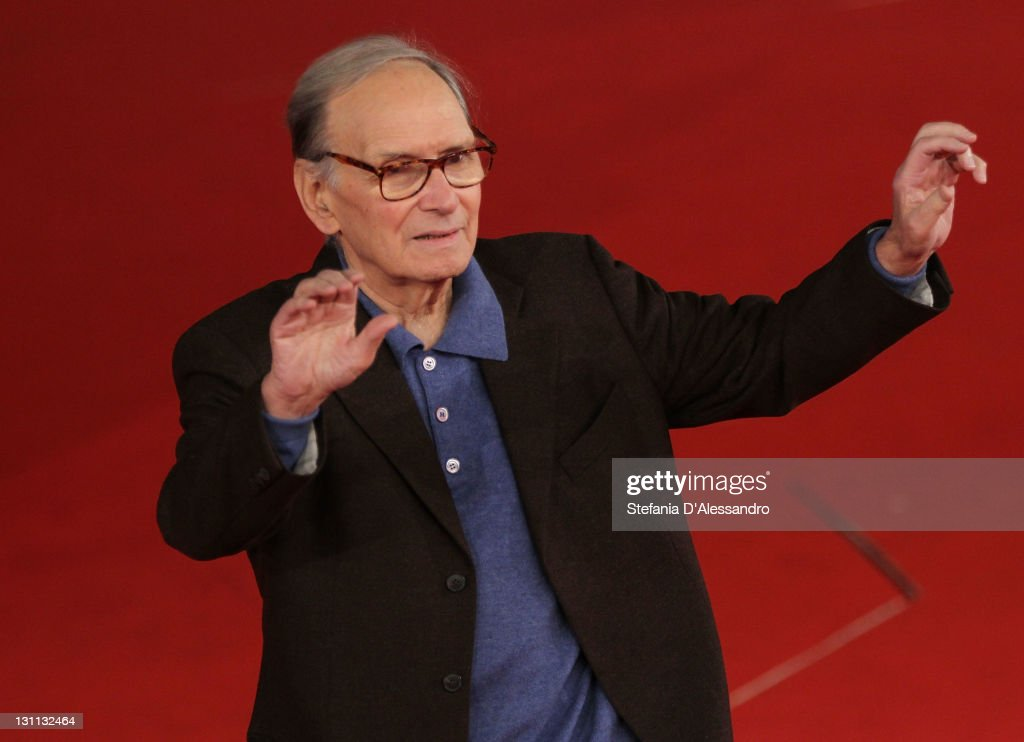 <a gi-track='captionPersonalityLinkClicked' href=/galleries/search?phrase=Ennio+Morricone&family=editorial&specificpeople=677347 ng-click='$event.stopPropagation()'>Ennio Morricone</a> member of the International Jury attend a photocall during the 6th International Rome Film Festival on November 1, 2011 in Rome, Italy.