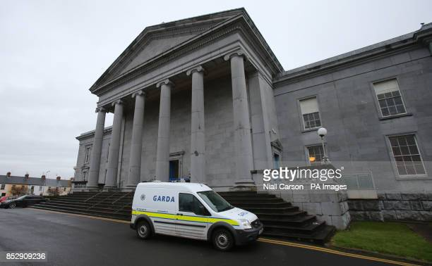 Ennis District Court where Jennny Lauren the niece of fashion designer Ralph Lauren has been fined 2000 euros for pushing an air hostess and swearing...