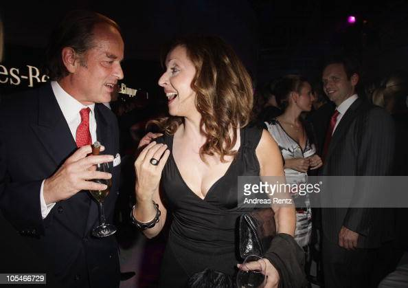 Enno von Ruffin and Vicky Leandros attend the after show party to the 'Tribute to Bambi' Charity Gala at Station on October 14 2010 in Berlin Germany