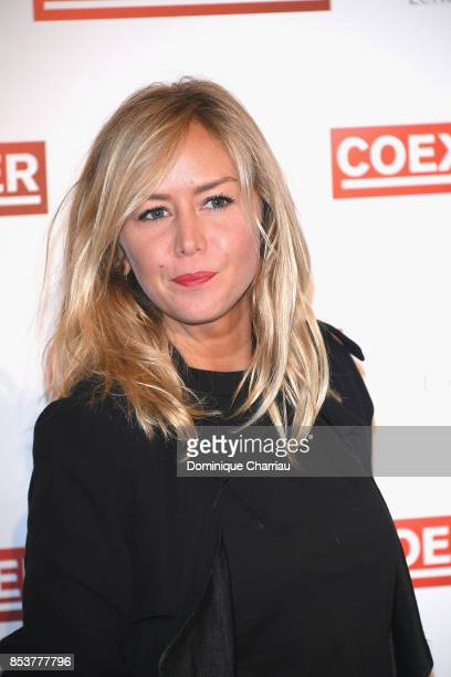 Enora Malagre attends the 'Coexister' Paris Premiere at Le Grand Rex on September 25 2017 in Paris France