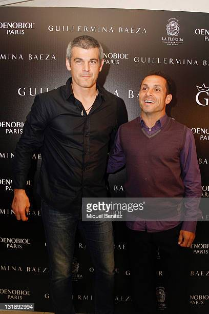 Enric Massip and Sergi Barjuan attend the Guillermina Baeza New Summer Collection on June 9 2011 in Barcelona Spain