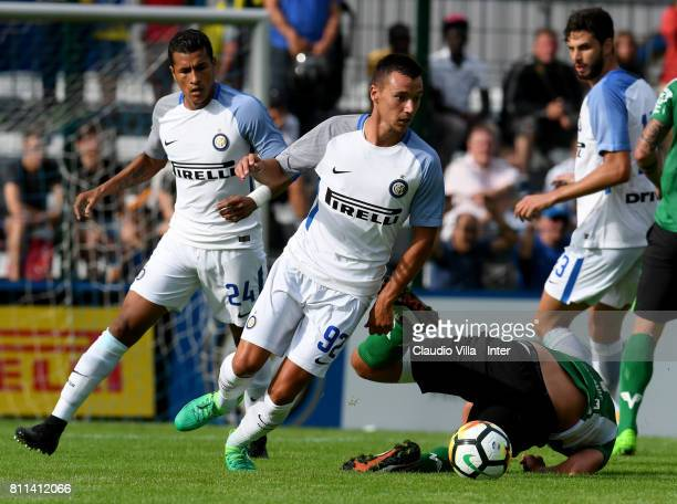 Enrico Baldini of FC Internazionale in action during the Preseason Friendly match between FC Internazionale and Wattens on July 9 2017 in Reischach...