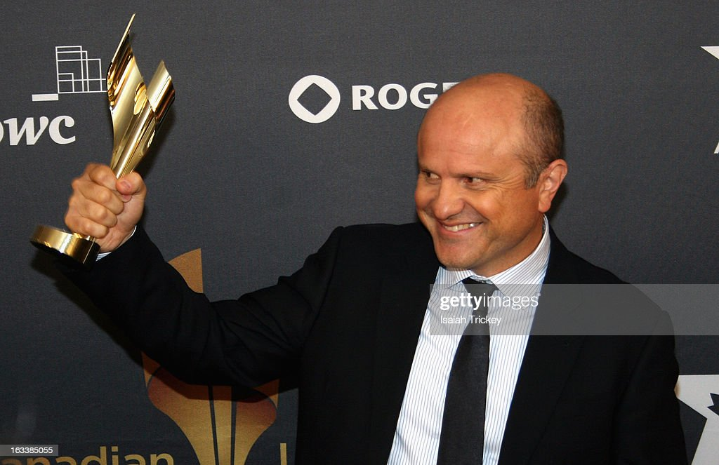 Enrico Colantoni, winner of best performance by an actor in a continuing leading dramatic role,attends the 2013 Canadian Screen Awards at Sony Centre for the Performing Arts on March 3, 2013 in Toronto, Canada.