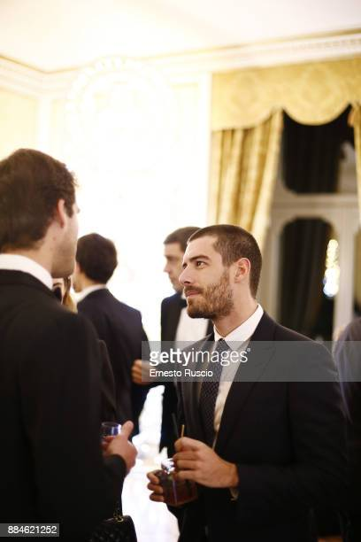 Enrico Oetiker arrives for the Children for Peace Gala Dinner at Cardinal Gallery on December 2 2017 in Rome Italy