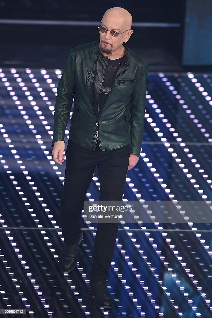 Enrico Ruggeri attends the third night of the 66th Festival di Sanremo 2016 at Teatro Ariston on February 11, 2016 in Sanremo, Italy.