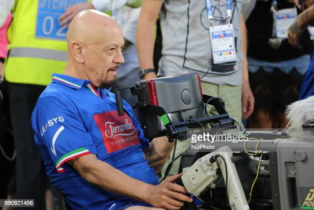 Enrico Ruggeri attends the twentysixth Partita del Cuore charity football game at Juventus Stadium on may 30 2017 in Turin Italy