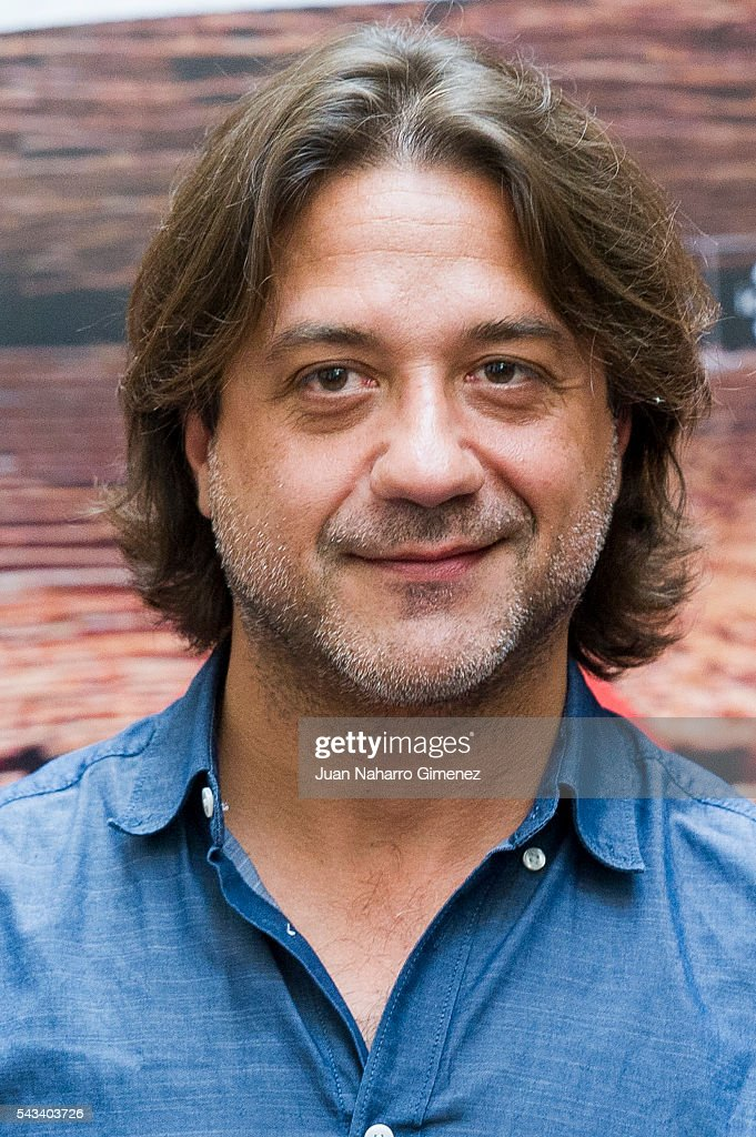 Enrique Arce attends 'Mi Panaderia en Brooklyn' at Hospes Hotel on June 28, 2016 in Madrid, Spain.