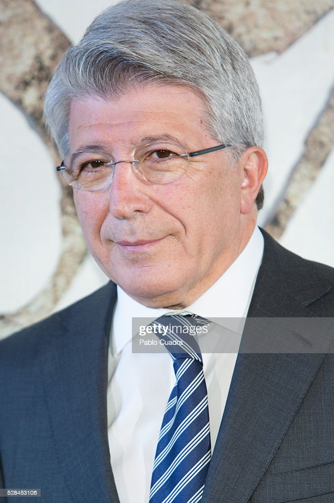 Enrique Cerezo attends the '1898 Los Ultimos De Filipinas' photocall at the Room Mate Hotel on May 05, 2016 in Madrid, Spain.
