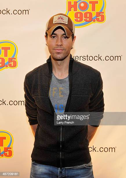 Enrique Iglesias attends Hot 995's Jingle Ball 2013 presented by Overstockcom at Verizon Center on December 16 2013 in Washington DC