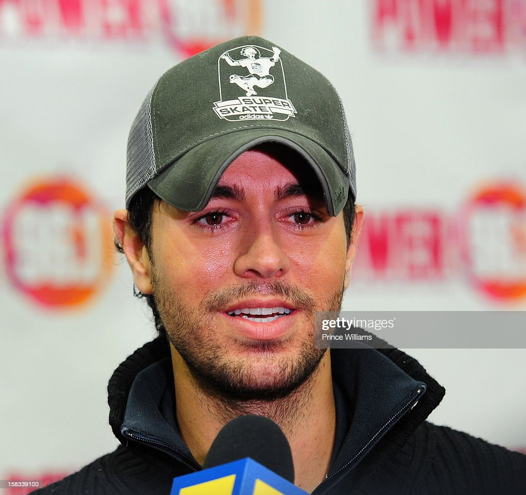 Enrique Iglesias attends Power 96.1's Jingle Ball 2012 at Phillips Arena on December 12, 2012 in Atlanta, Georgia.