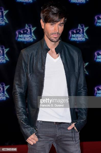 Enrique Iglesias attends the 18th NRJ Music Awards at Palais des Festivals on November 12 2016 in Cannes France