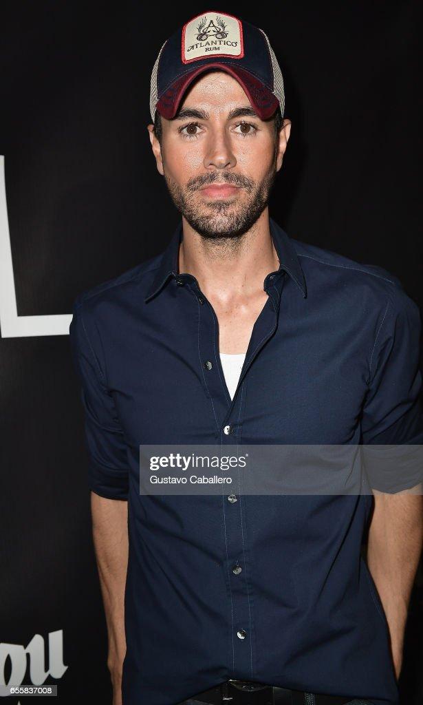 Enrique Iglesias attends the Grand Opening Celebration of TATEL Miami at TATEL Miami on March 20, 2017 in Miami Beach, Florida.