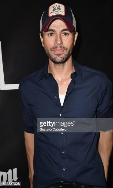 Enrique Iglesias attends the Grand Opening Celebration of TATEL Miami at TATEL Miami on March 20 2017 in Miami Beach Florida