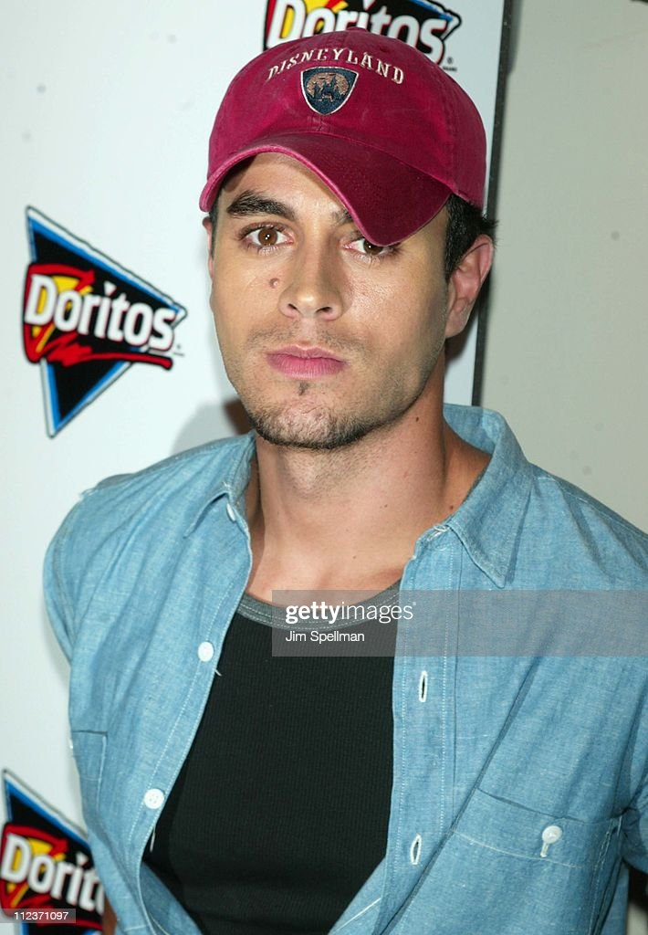 <a gi-track='captionPersonalityLinkClicked' href=/galleries/search?phrase=Enrique+Iglesias+-+Singer&family=editorial&specificpeople=202672 ng-click='$event.stopPropagation()'>Enrique Iglesias</a> during Doritos Salsa Launch with <a gi-track='captionPersonalityLinkClicked' href=/galleries/search?phrase=Enrique+Iglesias+-+Singer&family=editorial&specificpeople=202672 ng-click='$event.stopPropagation()'>Enrique Iglesias</a> at Tribeca Rooftop in New York City, New York, United States.